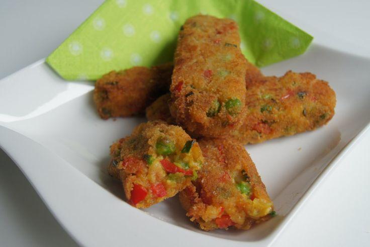 Gemüsestäbchen passen prima zu Kartoffeln oder aber auch als Snack für zwischendurch. Auch machen sie eine gute Figur auf jedem veganem Buffet.