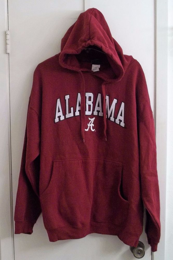 University Of Alabama Athletic Hooded Pullover Adult 2XL XX-Large Old Varsity  #OldVarsityBrand #AlabamaCrimsonTide