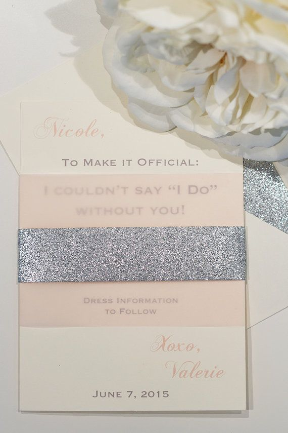 Bridesmaid Invitations Will you be my
