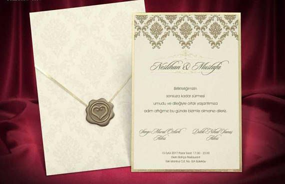 35 Printed invitations with envelopes Add-on for custom invitation
