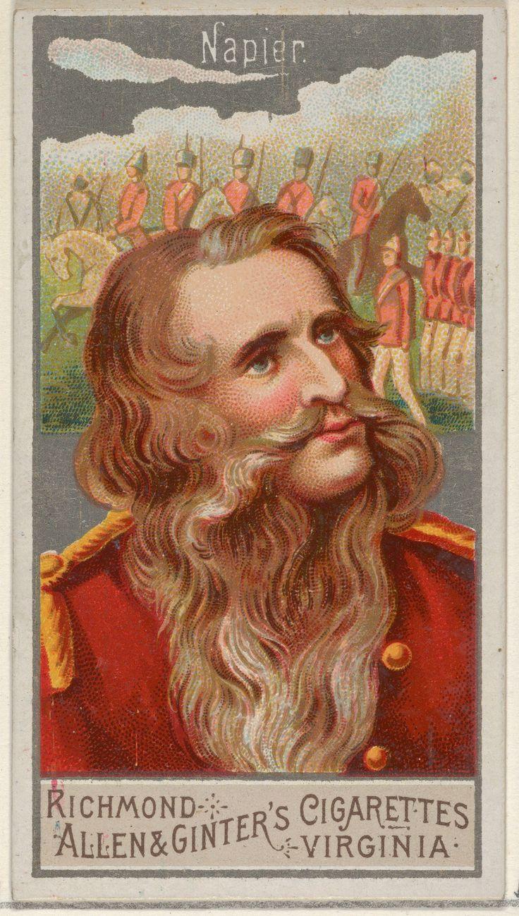 Le Général Sir Charles James Napier (1888, Metropolitan Museum of Arts, New-York) issue de la série des grands généraux réalisée par l'entrepr