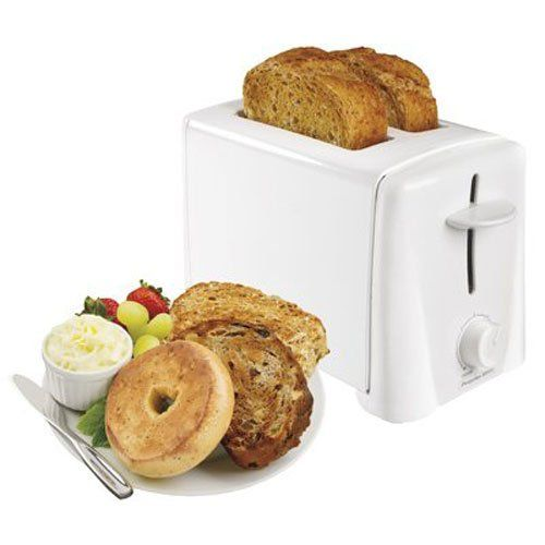 Proctor Silex 22611 2-Slice Toaster (22611) - Hamilton Beach 2 Slice Toasters are popular not only for their expert toasting performance -- they also look great in your kitchen. Wider slots and smart buttons allow you to uniformly toast and warm bagels, English muffins and other breads and advanced toasting technology ensures consistent resu...
