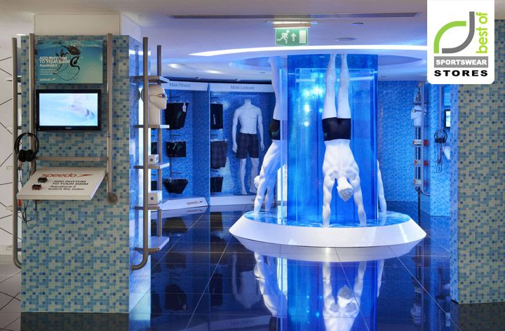 Speedo store at Harrods by officeTwelve, London