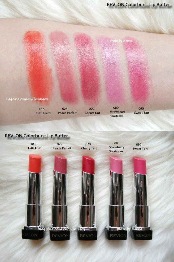 Revlon Strawberry Shortcake Lip Butter 58 best Hanna's Lip Co...