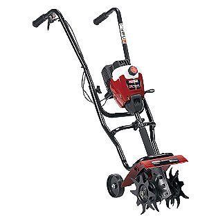 Craftsman Tiller.  Best gardening tool ever.  I love digging up the weeds with mine