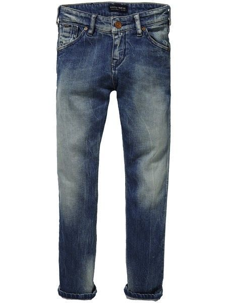 Phaidon Blue Faded Effect Super Skinny Jeans 85518