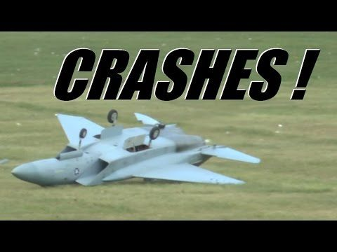 RC radio control airplane CRASH compilation - YouTube
