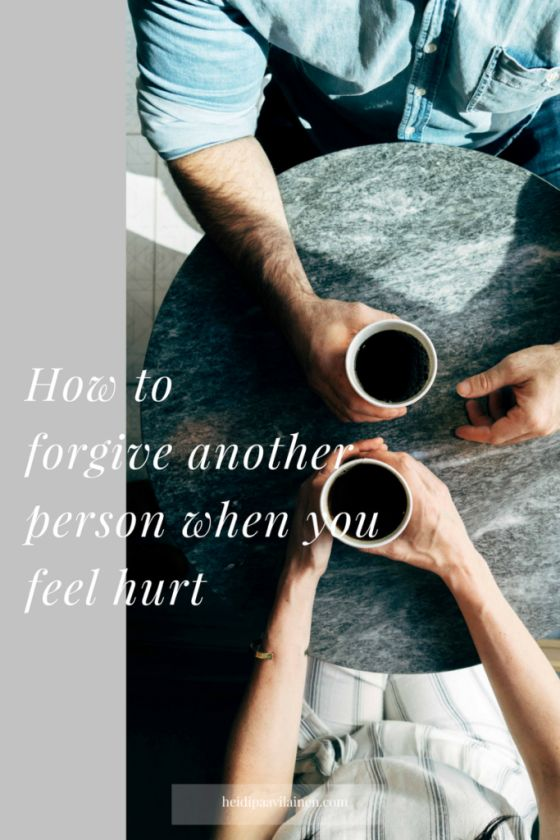 How to forgive another person when you feel hurt. In this post I will share with you 3 things that can help you to overcome hurt and forgive more effortlessly. Click through to read the post.