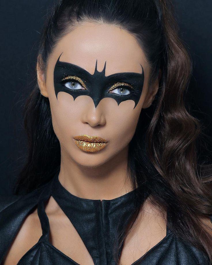 Best 25+ Batgirl Makeup Ideas On Pinterest