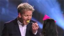 Chef Ramsay Gets Macaroni and Cheese Surprise