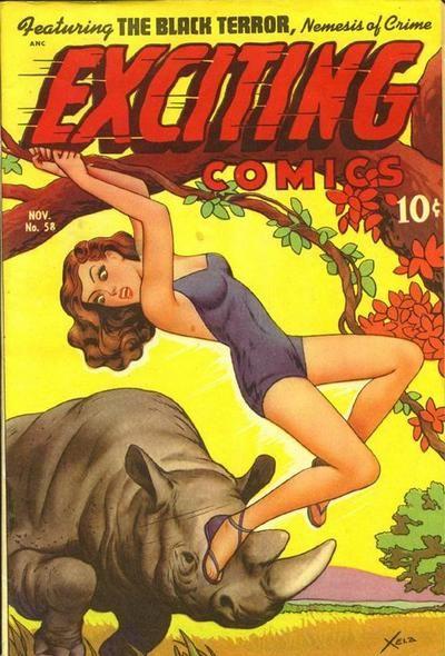 Nyoka the Jungle Girl #5: Golden Age Jungle Adventure Comic 1947