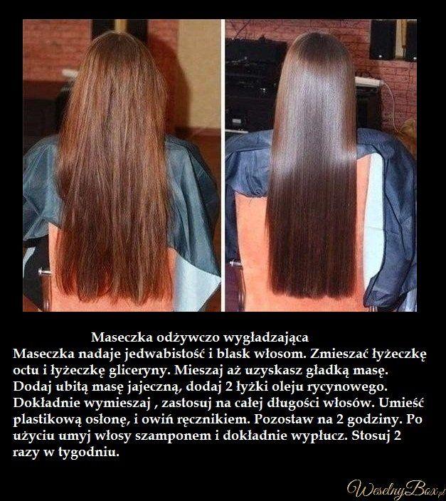 Sposób na naturalnie wygładzone i proste włosy!