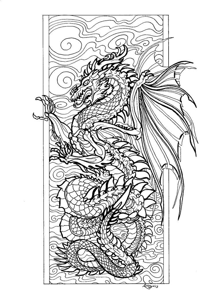 20 best images about Dragon color