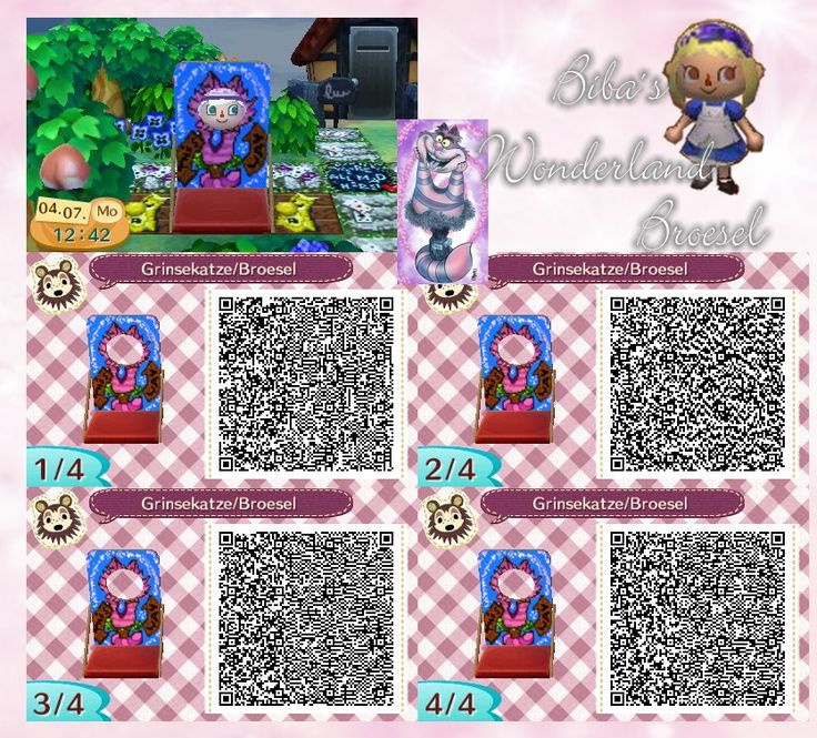 162 best images about broesel qr designs animal crossing for Acnl boden qr codes