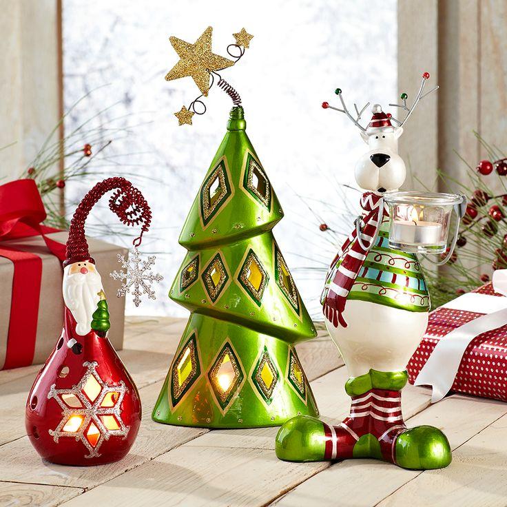 Ceramic Tealight Holders #Christmas