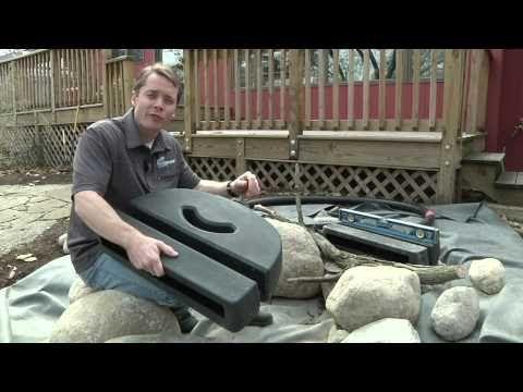 Aquascape's Waterfall Spillway--DIY Pondless Waterfall|Pondless Supplies|Lexington|Kentucky|KY - H2O Designs