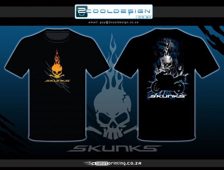 Biker tshirt design