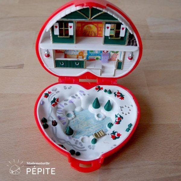 Polly Pocket Noel Polly Pocket® Bluebird « thème Noël » | Polly pocket, Jouets