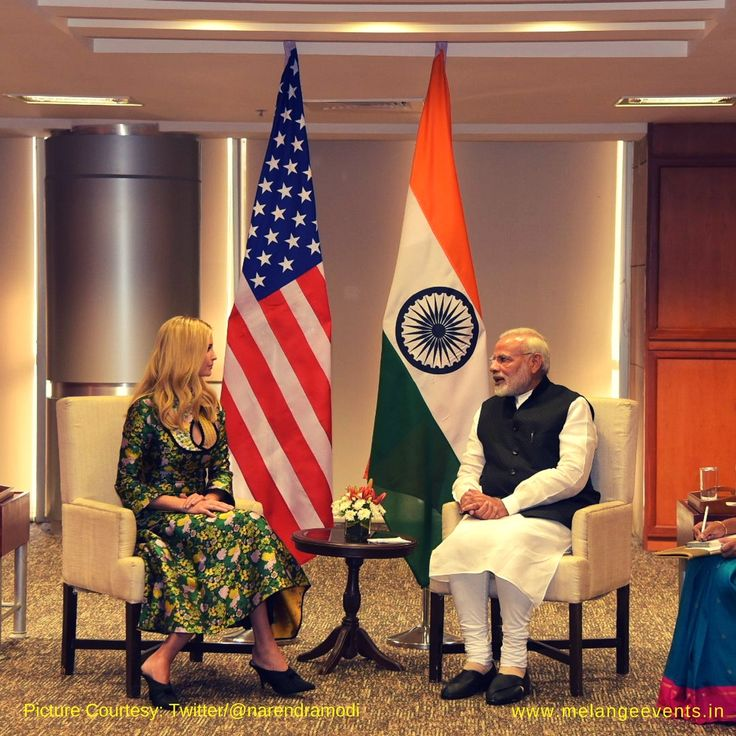 Adviser and daughter to American President, Ivanka Trump is in Hyderabad to attend the Global Entrepreneurs Summit 2017, that kicked off with Prime Minister Narendra Modi's address. Ivanka Trump, who is leading the US delegation to the GES2017 looked absolutely at ease in the Royal Green Silk outfit with yellow and pink floral prints. This ...read more →