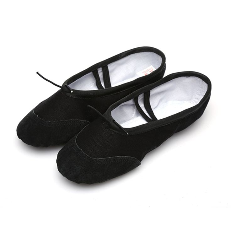 According The CM To Buy,Black Ballet Shoes For Children Girls Woman Yoga Slippers Teacher Gym Indoor Exercising Free Shipping