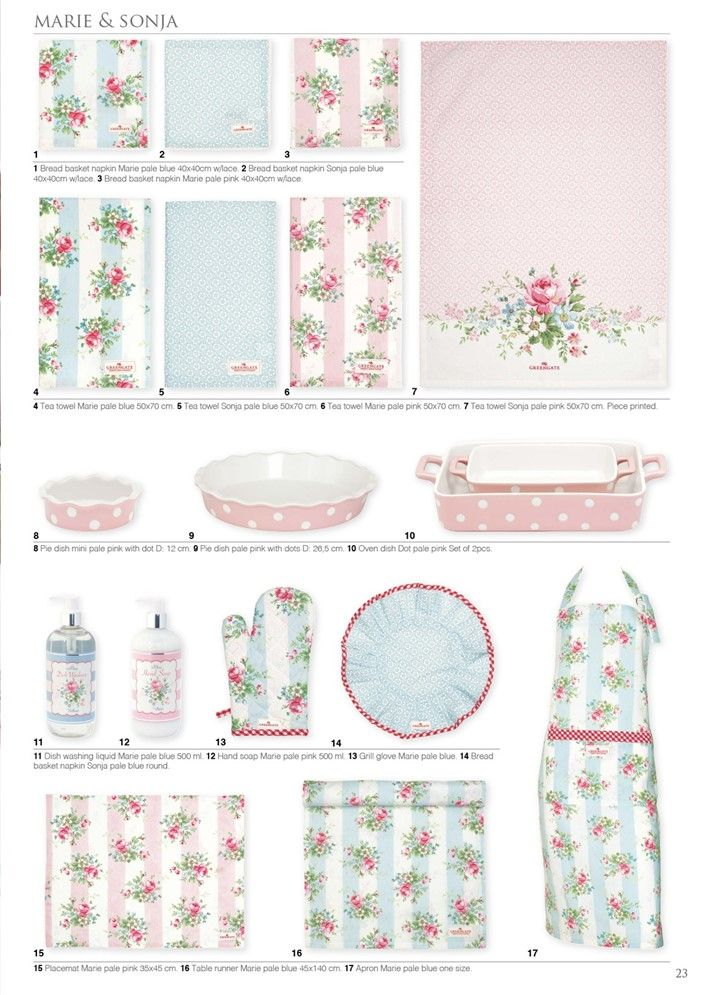 Greengate summer 2016 greengate catalogue pinterest for Cath kidston kitchen ideas