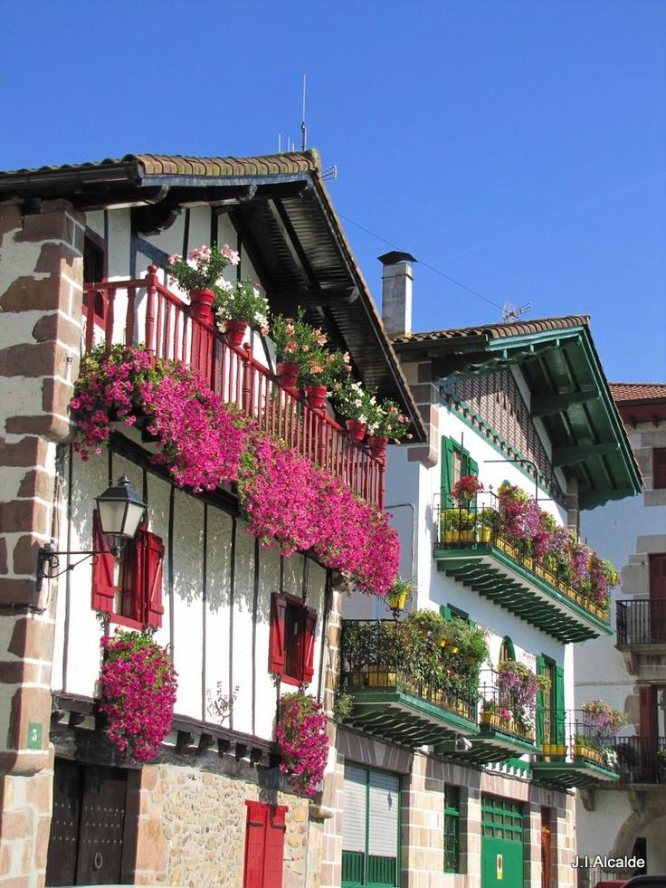 Bera, Navarra,Spain http://www.casasdelirati.com/