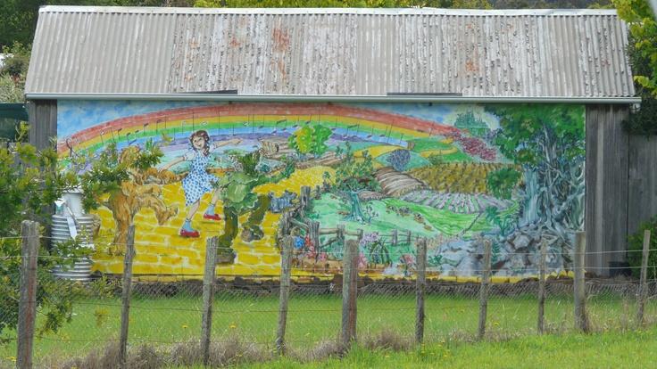Murals in Sheffield Tasmania