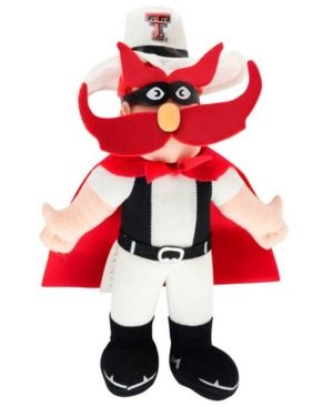 Forever Collectibles Red Raider Texas Tech Red Raiders 8-Inch Plush Mascot - Red