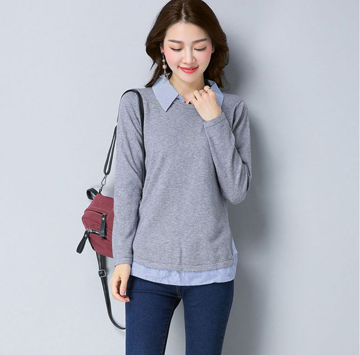 Autumn Winter Sweater Women Pullover Knitted Korean Womens Sweaters Oversized Fashion Knitwear Sueter Mujer Women Tops P4C0963. Yesterday's price: US $86.62 (70.81 EUR). Today's price: US $35.51 (29.06 EUR). Discount: 59%.
