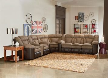 Shop For Lane Home Furnishings Talon Reclining Sectional, 249 SECT, And  Other Living Room Sectionals At Furniture Showcase In Stillwater, OK.