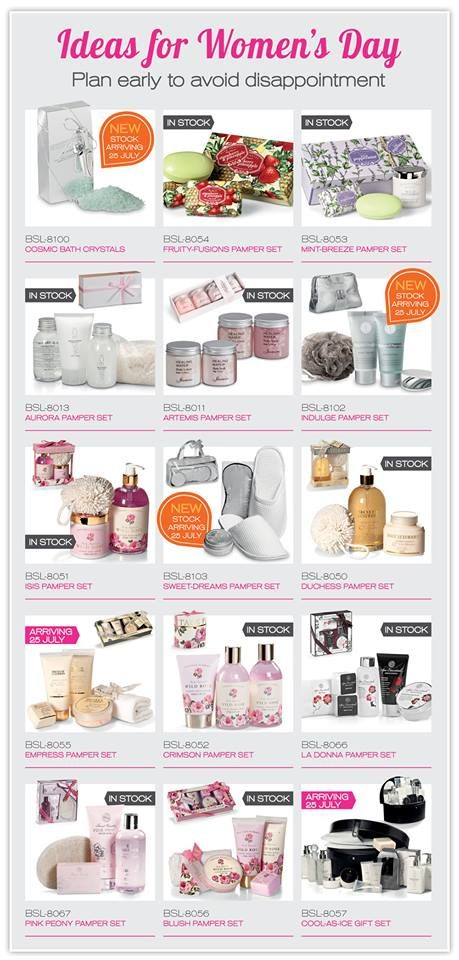 Over the past few years, we have focussed on importing a lot more promotional products for women. Lots of companies nowadays seek promotional product ideas to hand out on Women's Day on Friday the 9th of August.