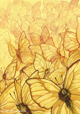 Las mariposas amarillas