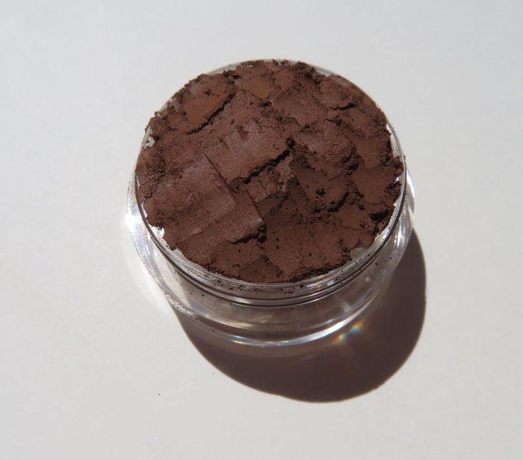 ESPRESSO -Matte Brown Mineral Eyeshadow | Loose Minerals | Vegan Loose Powder Eyeliner | Mineral Makeup Eye Shadow -Bark Eyeliner