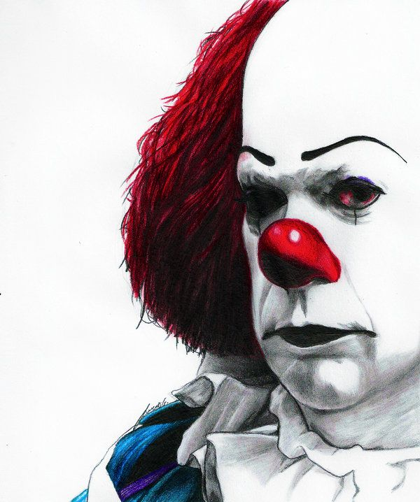 Pennywise the Clown by MyaWho.deviantart.com on @deviantART