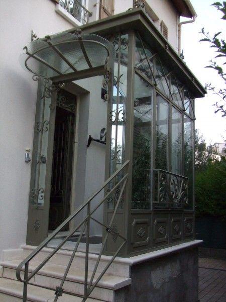 9 best sas d\u0027entrée images on Pinterest Home ideas, Foyers and - Porte D Entree En Pvc Prix