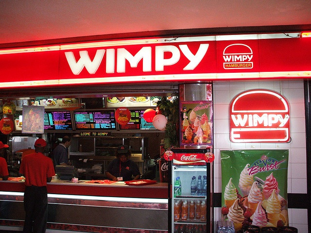 wimpy burger -such memories, fond as they are...these burgers were nothing to rave about!