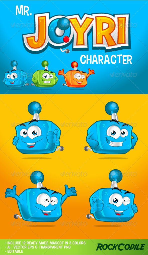 Mr. Joyri Character