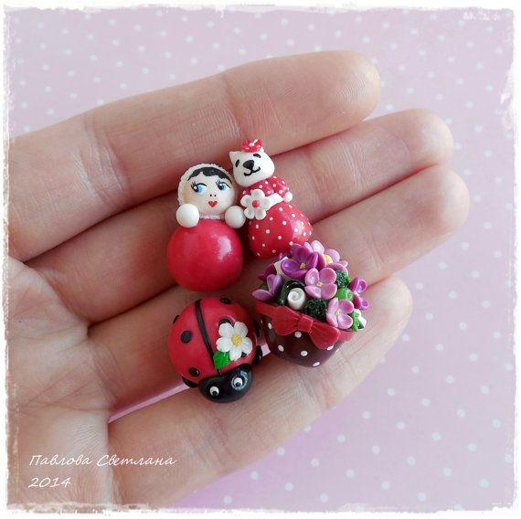 Миниатюрные игрушки для кукольного домика. от Pavlysha на Etsy, €19.00