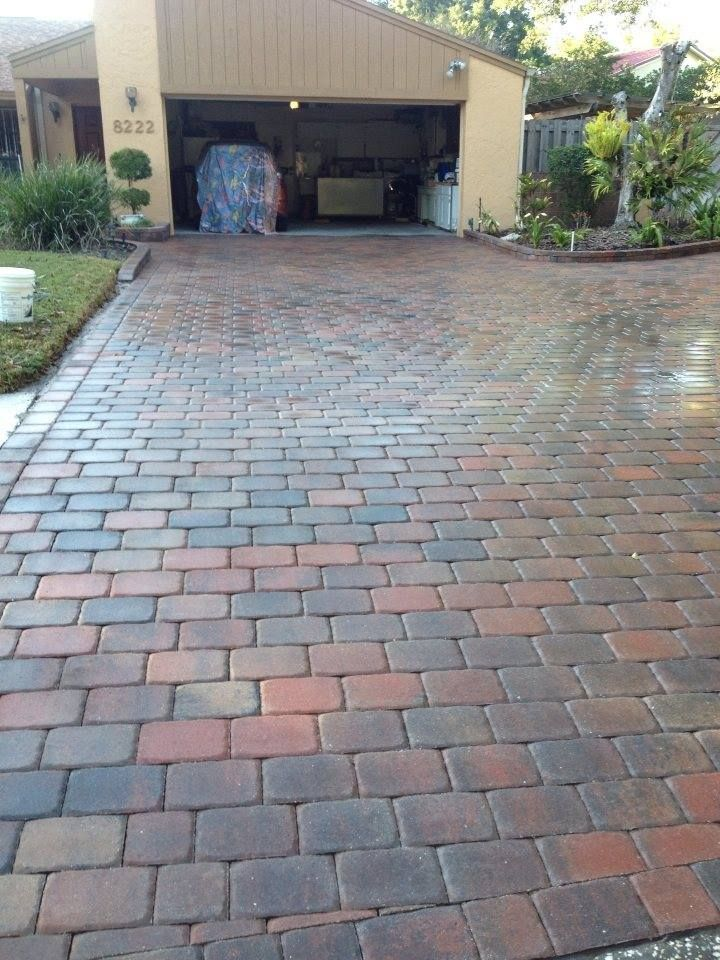 Clean And Sealing In West Tampa. Pergola PatioBrick PaversClose ...