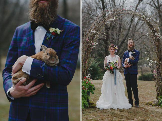 'Peter Rabbit' wedding Inspiration