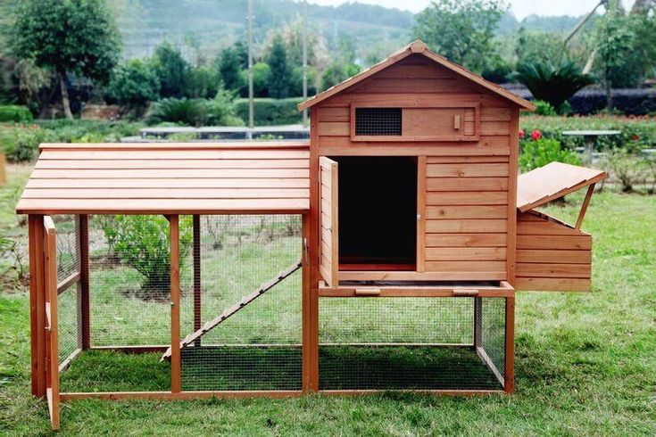 The Bantam Large Chicken Coop Tractor Hen House