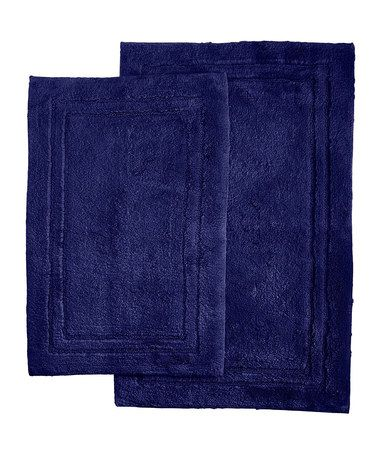 Another Great Find On Zulily Navy Blue Bath Mat Set Of Two