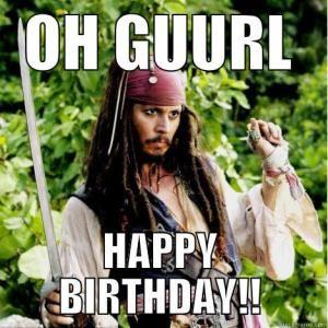 Happy Birthday Funny Meme for girl