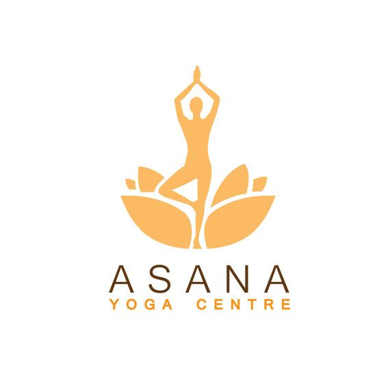 Logo design, customizable Pre-made Modern Metaphysical logo Yoga, Fitness