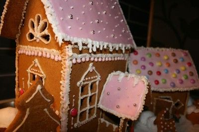 My gingerbread house I made 2009