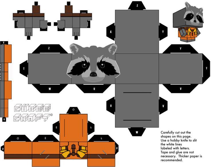 Rocket Cubeecraft by JagaMen