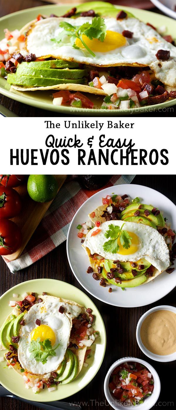 Start the day sunny side up! Here's a delicious and easy huevos rancheros recipe that you can whip up for a Mexican-style breakfast in no time at all.