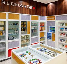 Marriot Recharge Shop Architecture by Karbon.ltd  #retail #interior #furniture #architecture