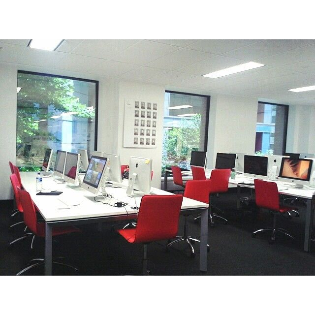 Just some of our facilities at the Sydney campus.