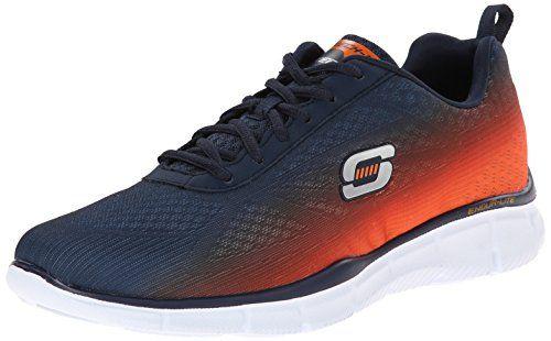 Skechers EqualizerThis Way, Herren Sneakers, Blau (NVOR), 47.5 EU - http://on-line-kaufen.de/skechers/47-5-eu-skechers-equalizer-this-way-herren